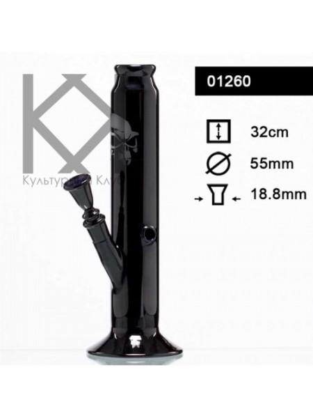 """Бонг """"Black Art"""" черный столб H:32cm"""