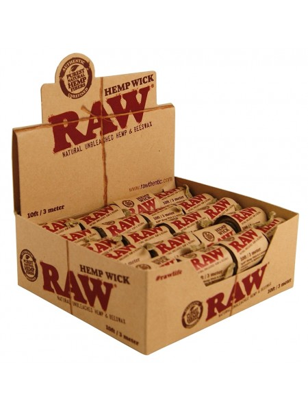 Raw Hemp Wick 300 см