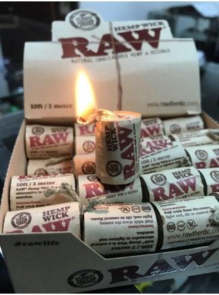 Raw Hemp Wick 300 см