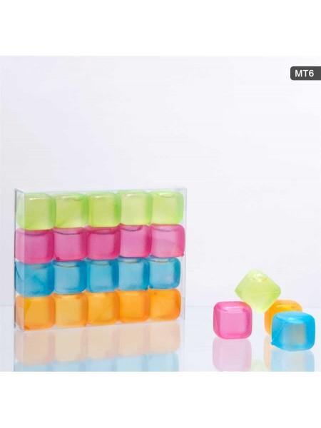 Кубики льда в ассортименте 20 шт/уп