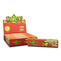 БУМАГА JUICY JAYS 'Strawberry-Kiwi' 32 шт KS Slim