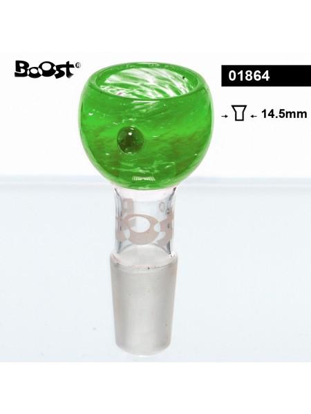 """Чаша для бонга """"Boost"""" SG:14.5 мм Зеленая"""