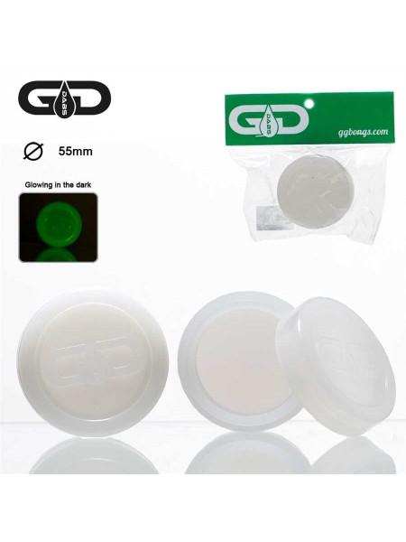 Кейс силиконовый Grace Glass Dabs Белый