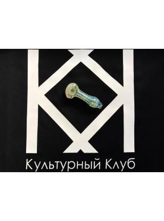 "Трубка стеклянная Sweet Glass ""Spoon pipe"" фьюминг"