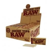 Фильтры RAW 'Original' 50 шт Широкие с перфарацией